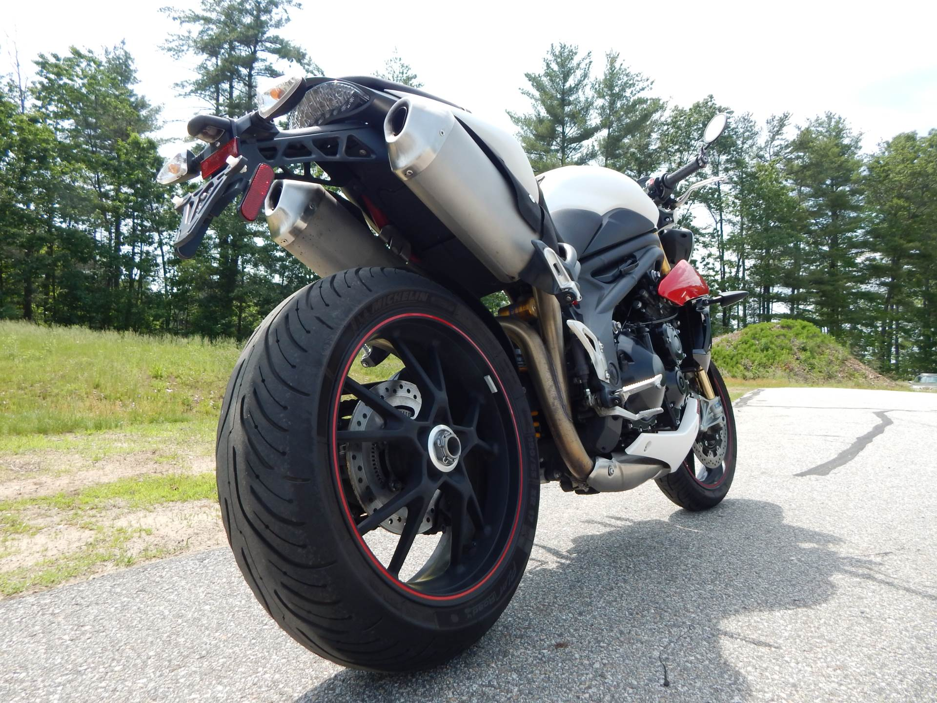 2014 Triumph Speed Triple R ABS in Concord, New Hampshire