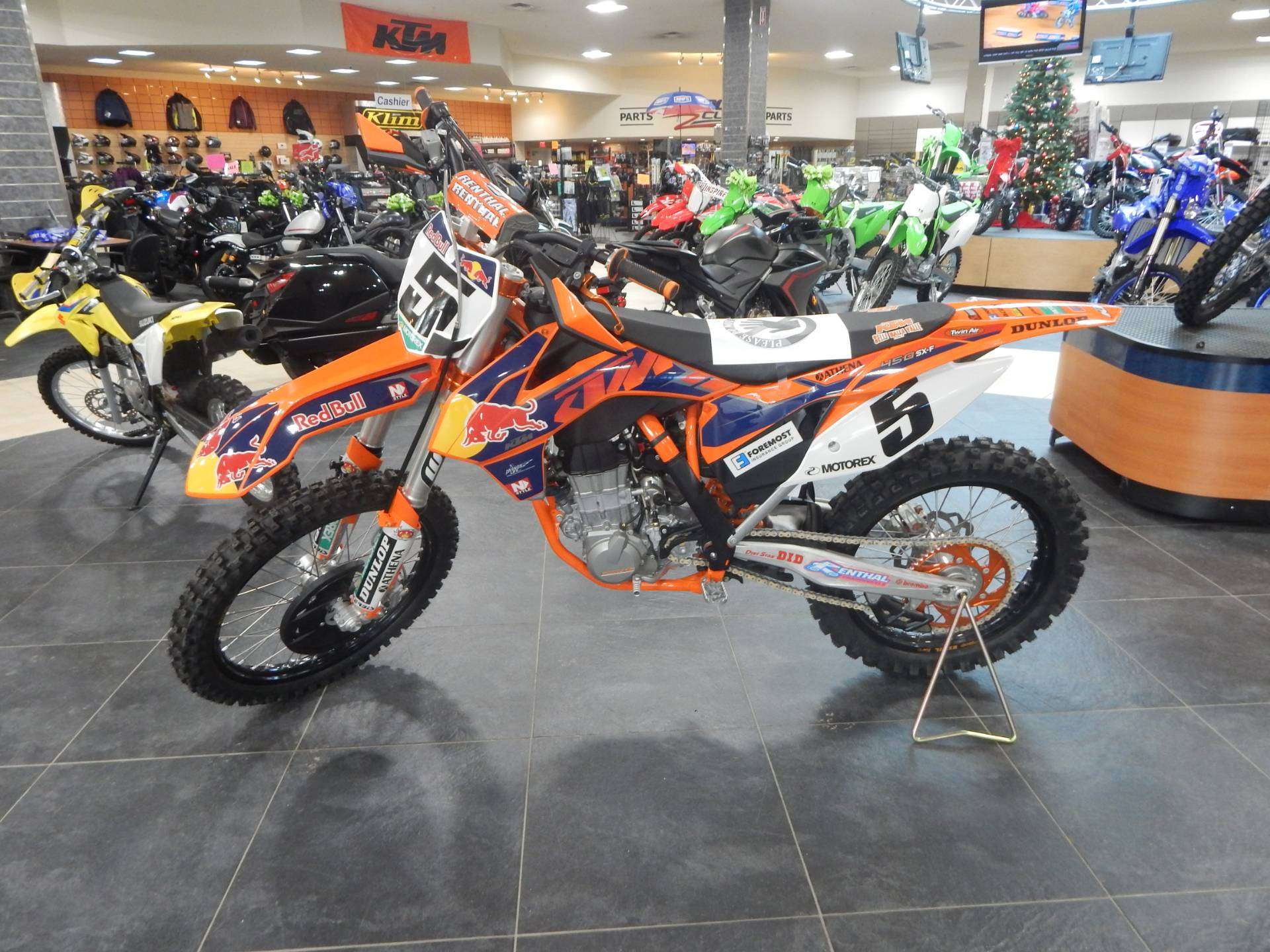 2013 KTM 450 SX-F Factory Edition in Concord, New Hampshire - Photo 4