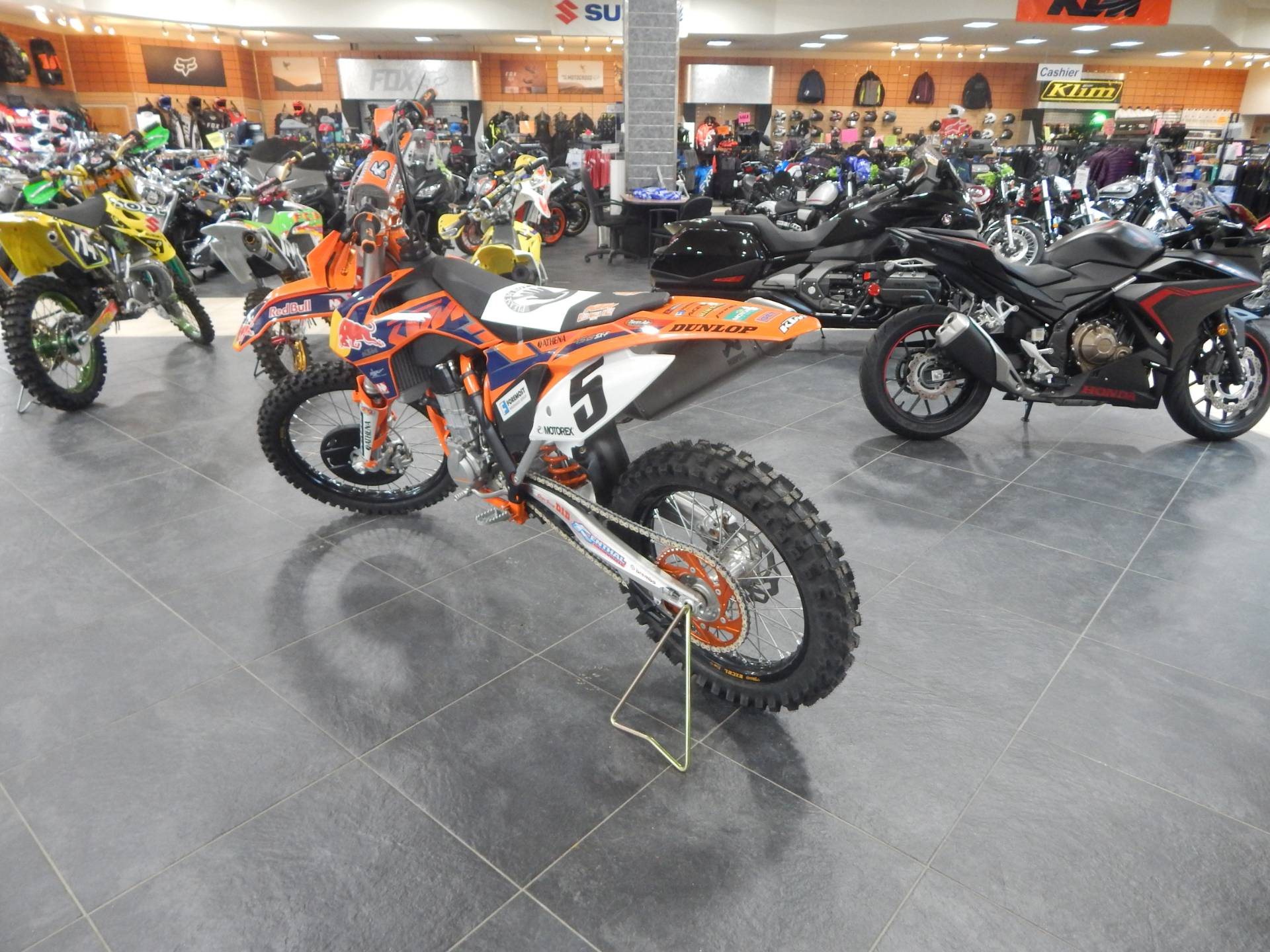 2013 KTM 450 SX-F Factory Edition in Concord, New Hampshire - Photo 6