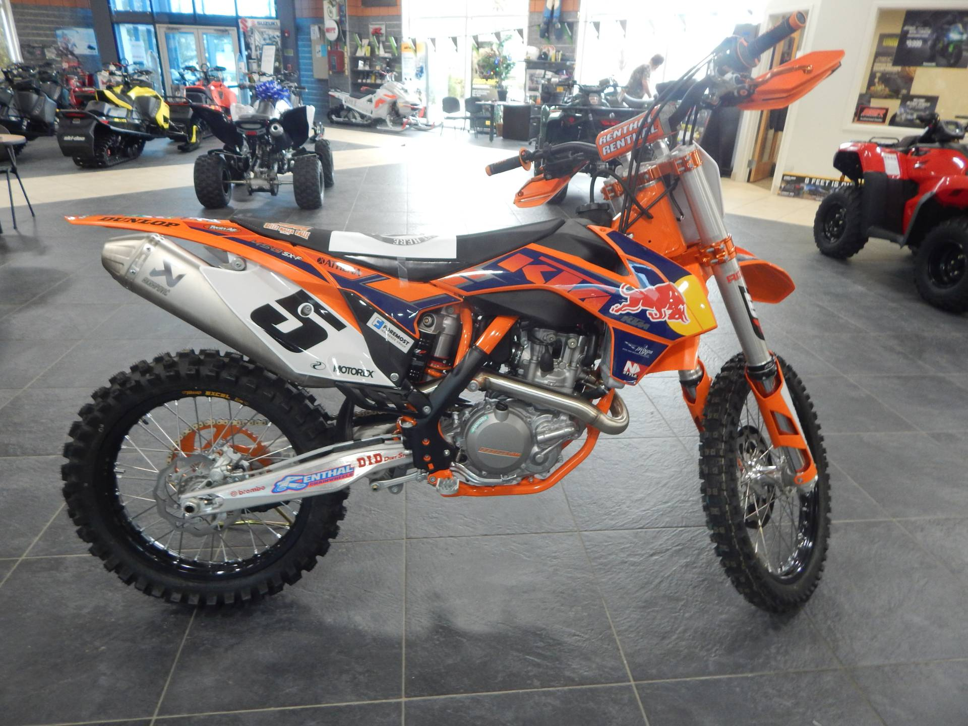 2013 KTM 450 SX-F Factory Edition in Concord, New Hampshire - Photo 1
