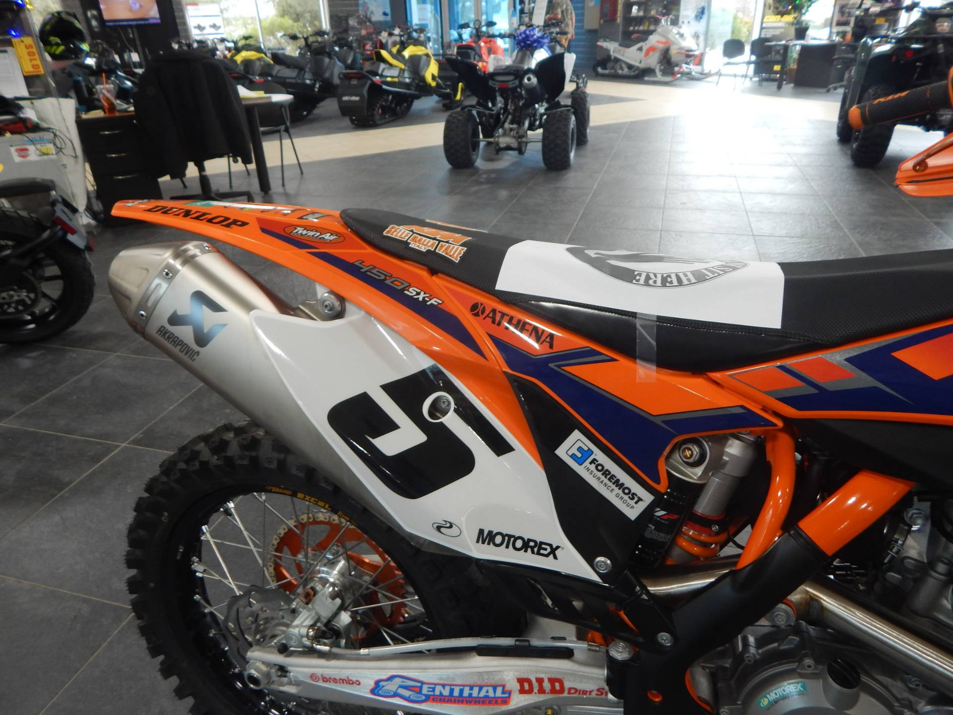 2013 KTM 450 SX-F Factory Edition in Concord, New Hampshire - Photo 14