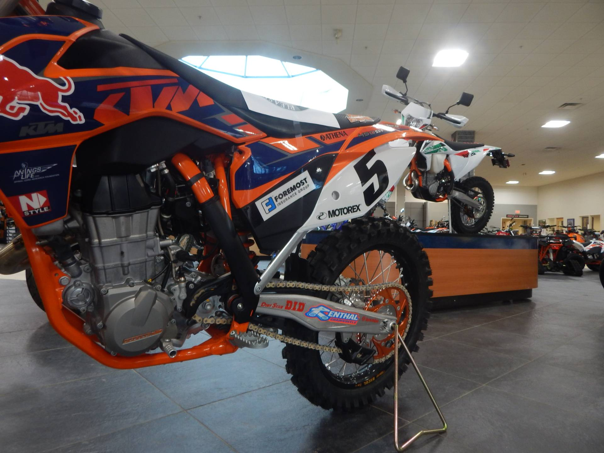 2013 KTM 450 SX-F Factory Edition in Concord, New Hampshire - Photo 17