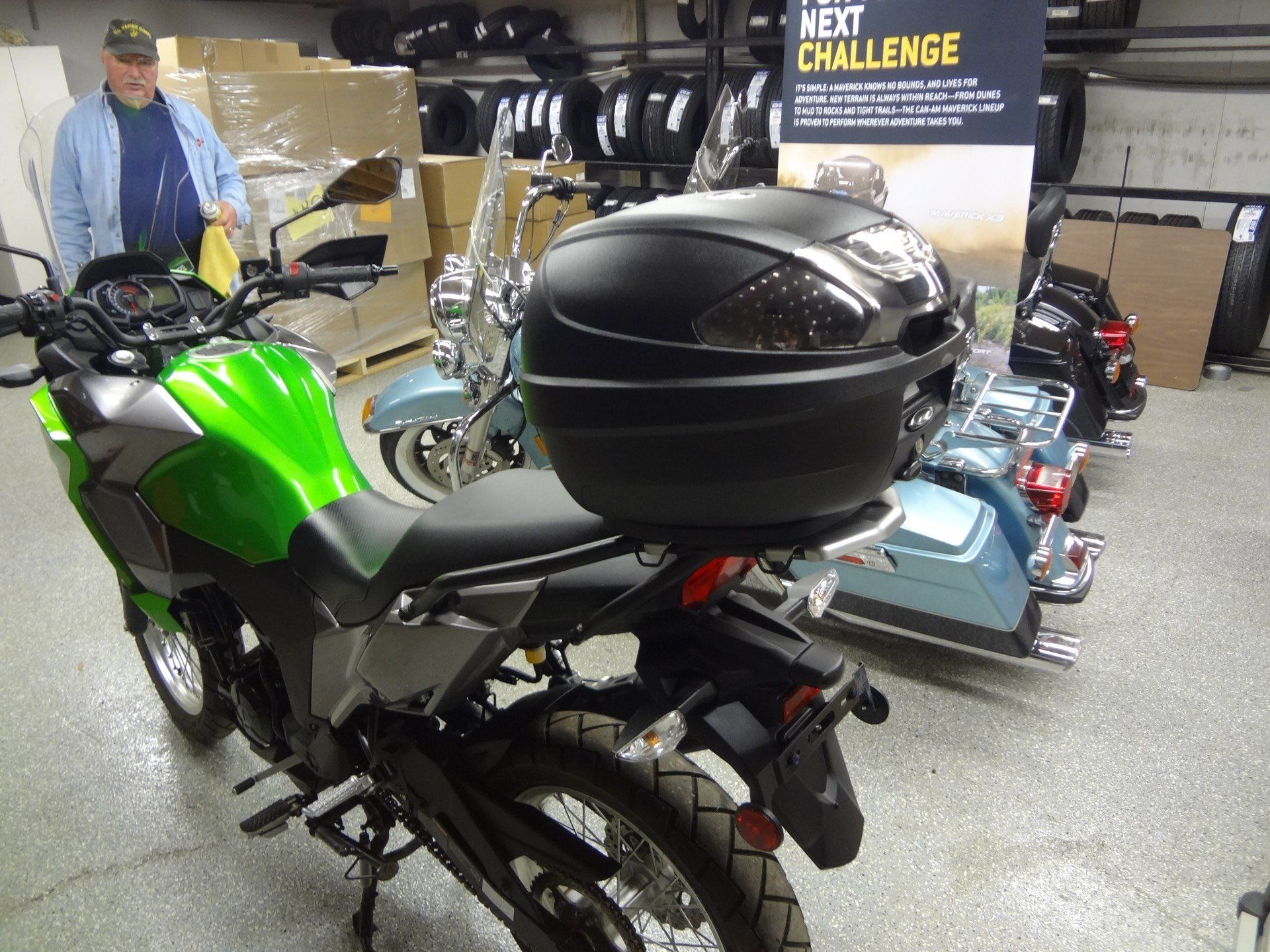 2017 Kawasaki Versys-X 300 in New Britain, Pennsylvania - Photo 4