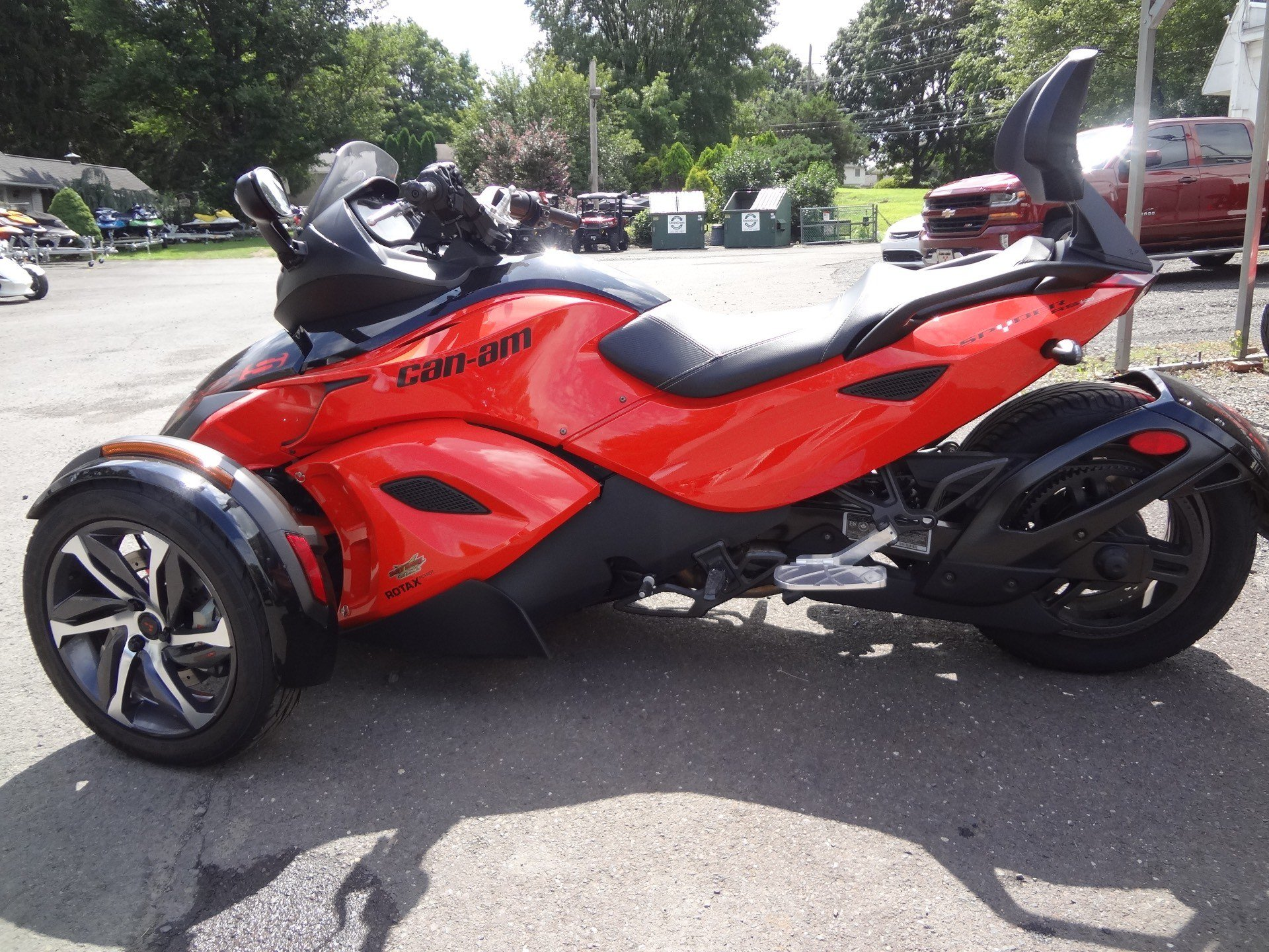 2014 Can-Am Spyder® RS-S SM5 in New Britain, Pennsylvania