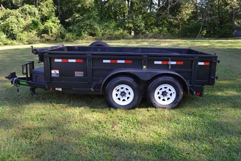 2017 MUDHEN MFG 6 x 12 Dump Trailer in New Britain, Pennsylvania
