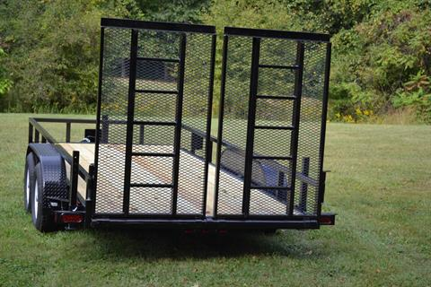 "2017 MUDHEN MFG 76"" x 16' Lanscape trailer 10K in New Britain, Pennsylvania"