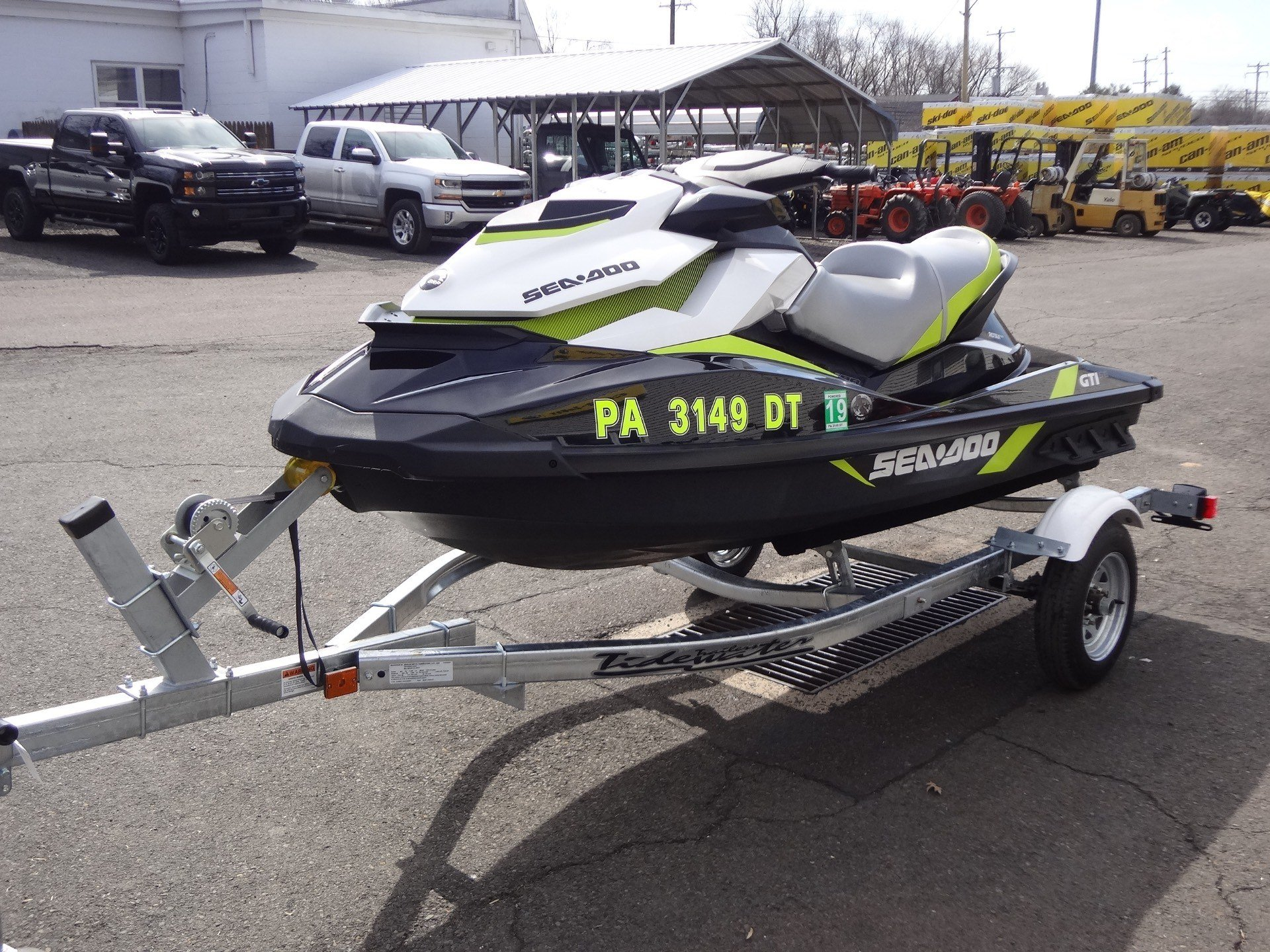 2017 Sea-Doo GTI SE in New Britain, Pennsylvania