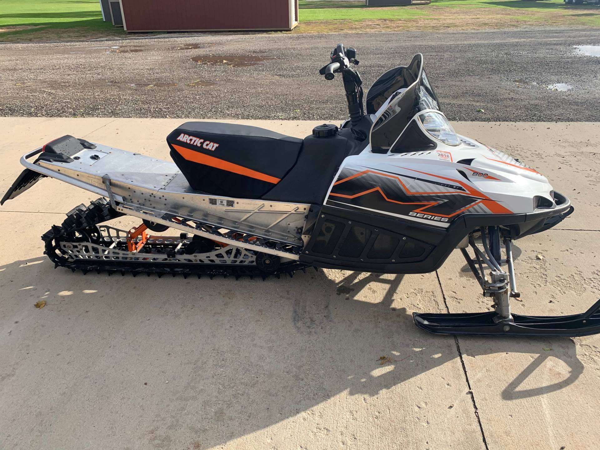 "2010 Arctic Cat M8 H.O. Sno Pro® 153"" in Independence, Iowa - Photo 3"