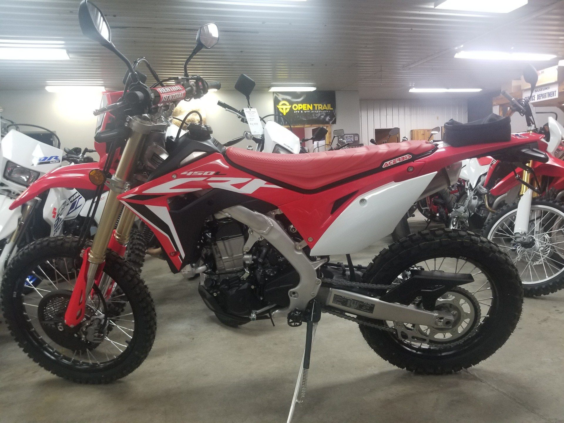 2020 Honda CRF450L in Spring Mills, Pennsylvania - Photo 2