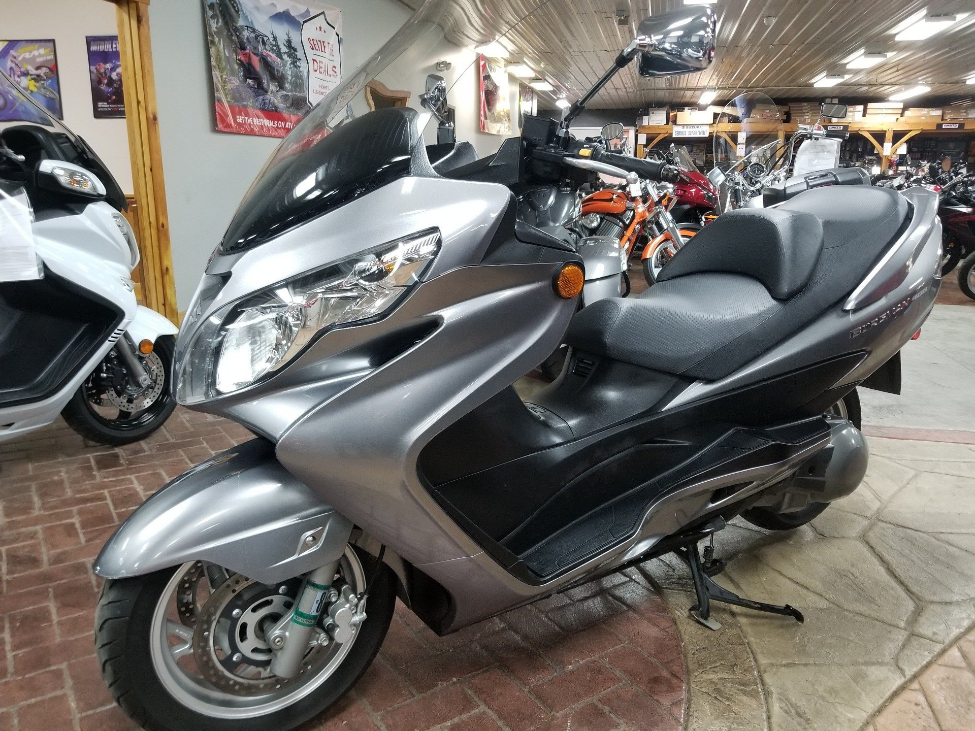 2007 Suzuki Burgman™ 400 in Spring Mills, Pennsylvania - Photo 2