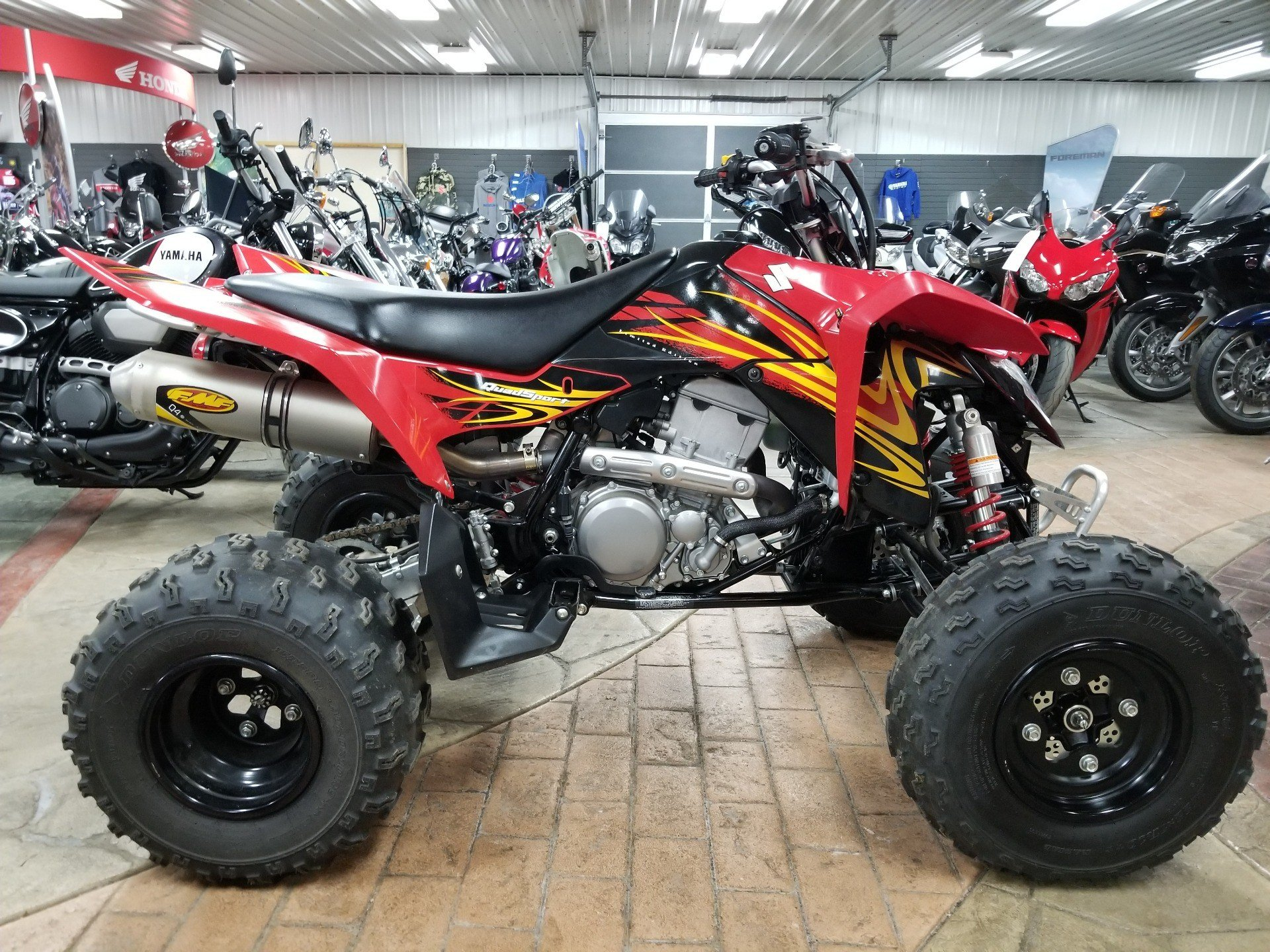 2009 Suzuki QuadSport® Z400™ Limited Edition in Spring Mills, Pennsylvania