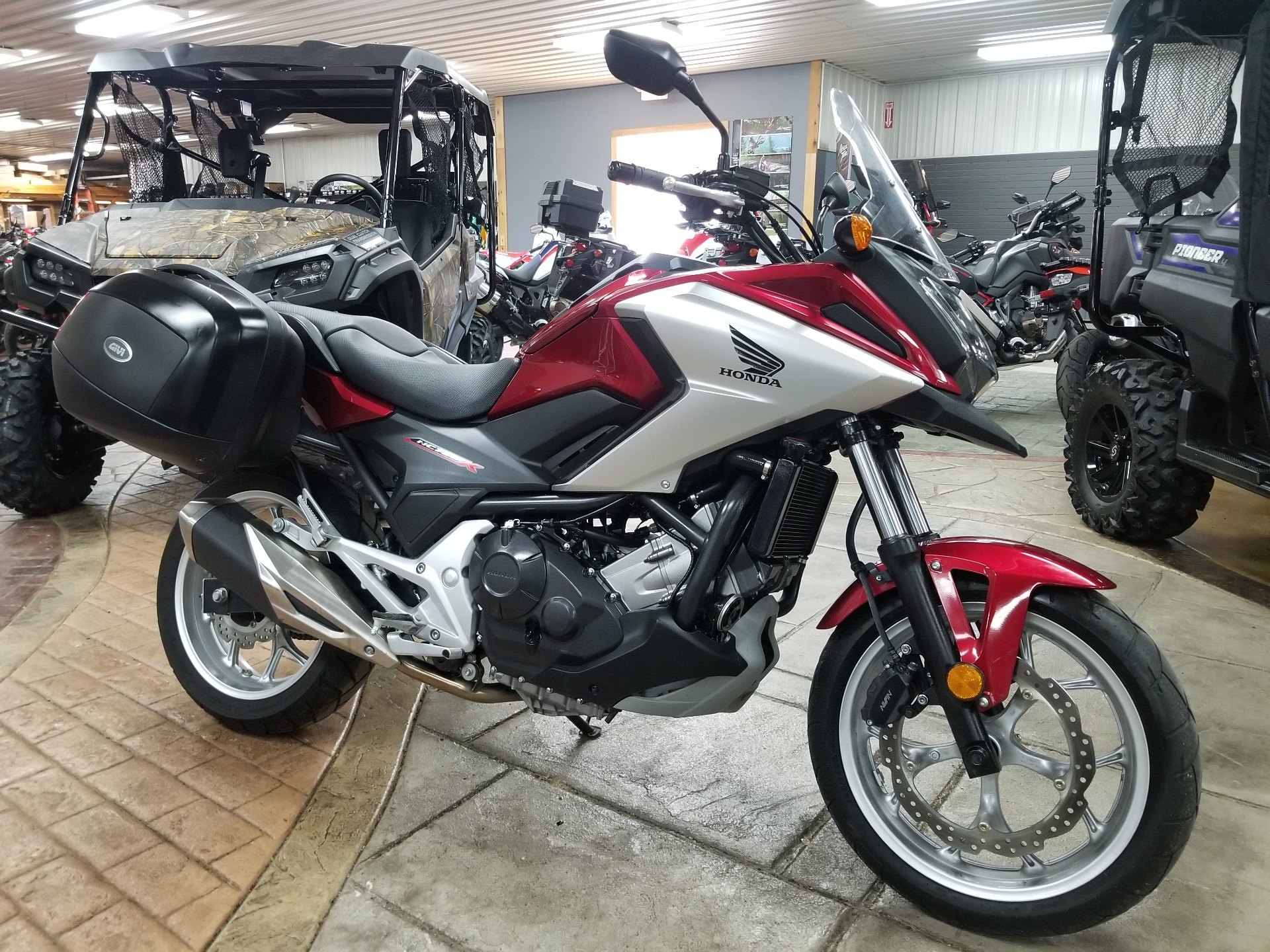 2018 Honda NC750X in Spring Mills, Pennsylvania - Photo 1