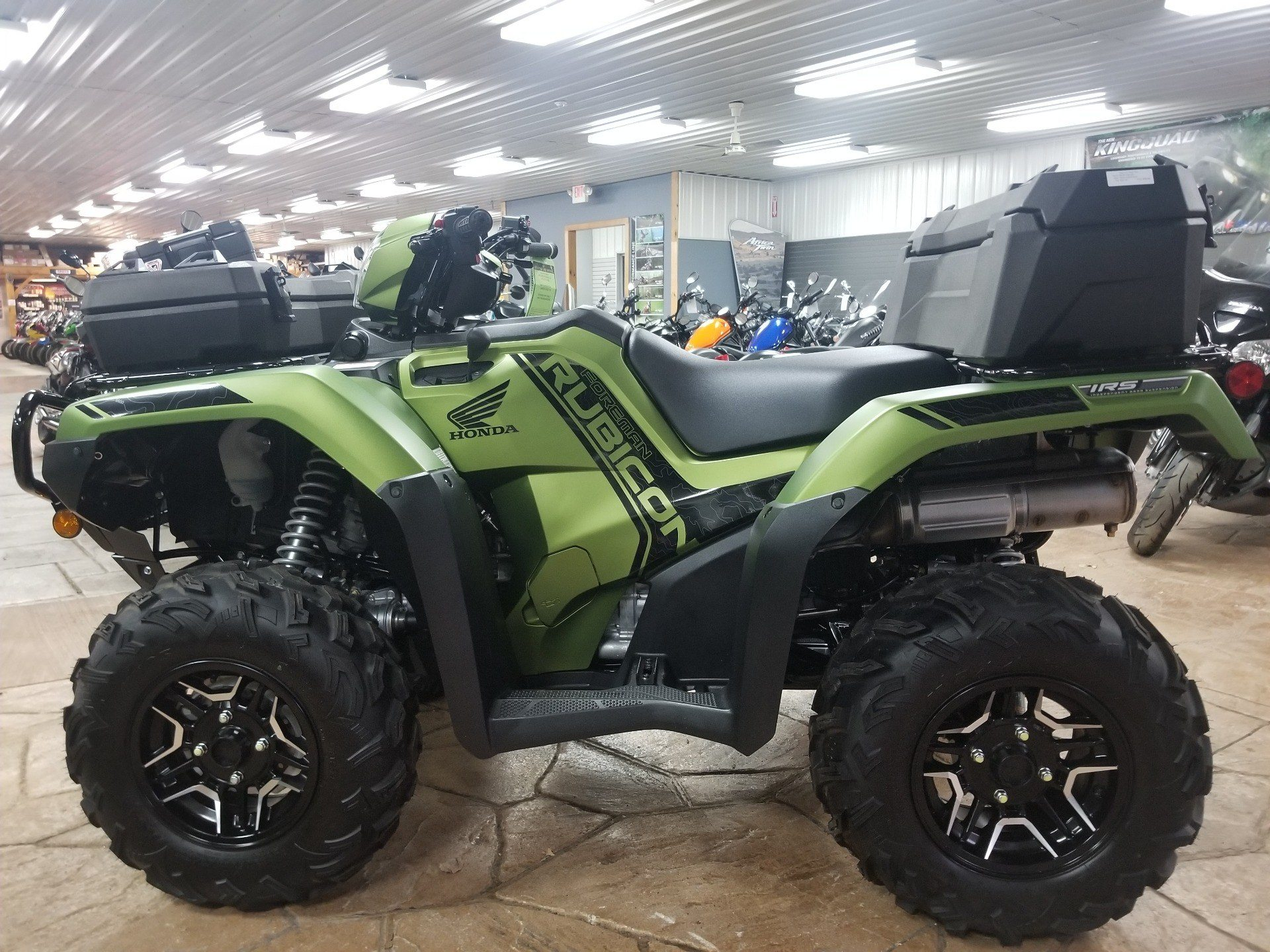 2020 Honda FourTrax Foreman Rubicon 4x4 Automatic DCT EPS Deluxe in Spring Mills, Pennsylvania - Photo 2