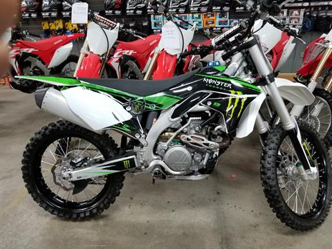 2017 Kawasaki KX450F in Spring Mills, Pennsylvania - Photo 1
