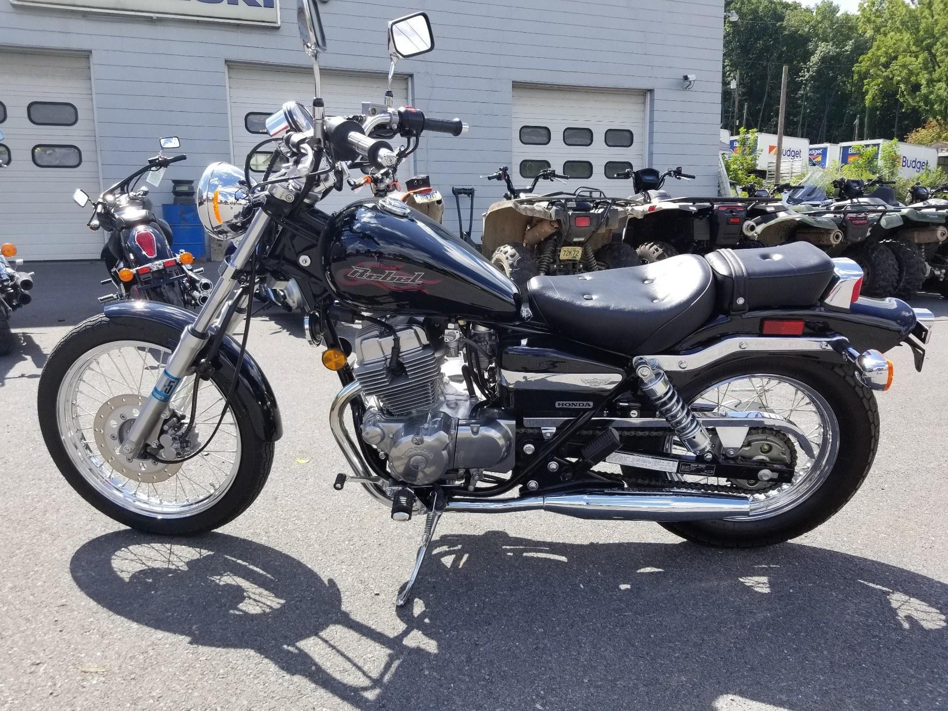 Used 2006 Honda Rebel® Motorcycles in Spring Mills, PA