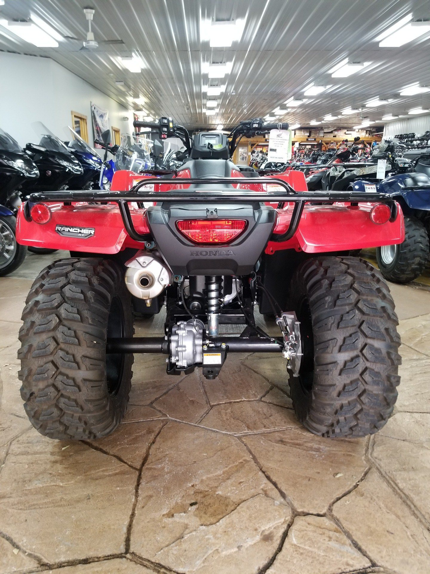 2020 Honda FourTrax Rancher 4x4 Automatic DCT EPS in Spring Mills, Pennsylvania - Photo 4