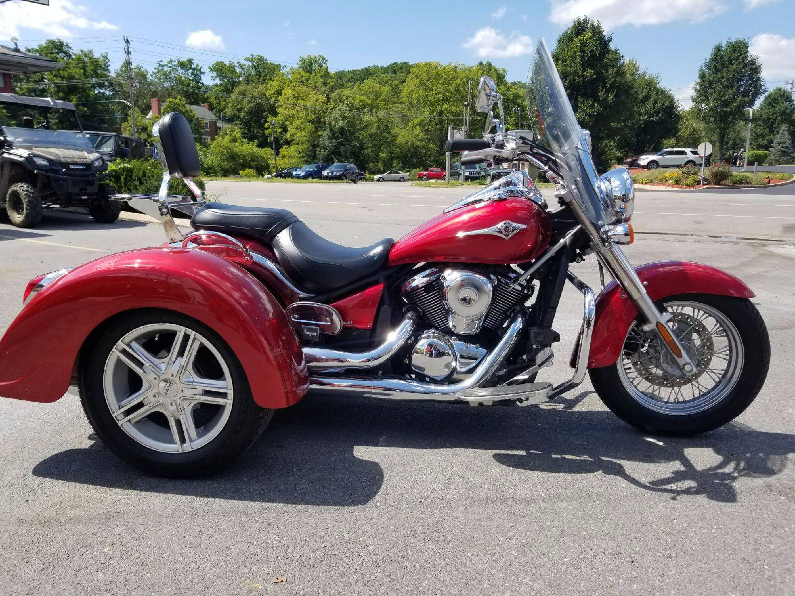 Used 2009 Kawasaki Vulcan® 900 Classic Motorcycles in State College, PA