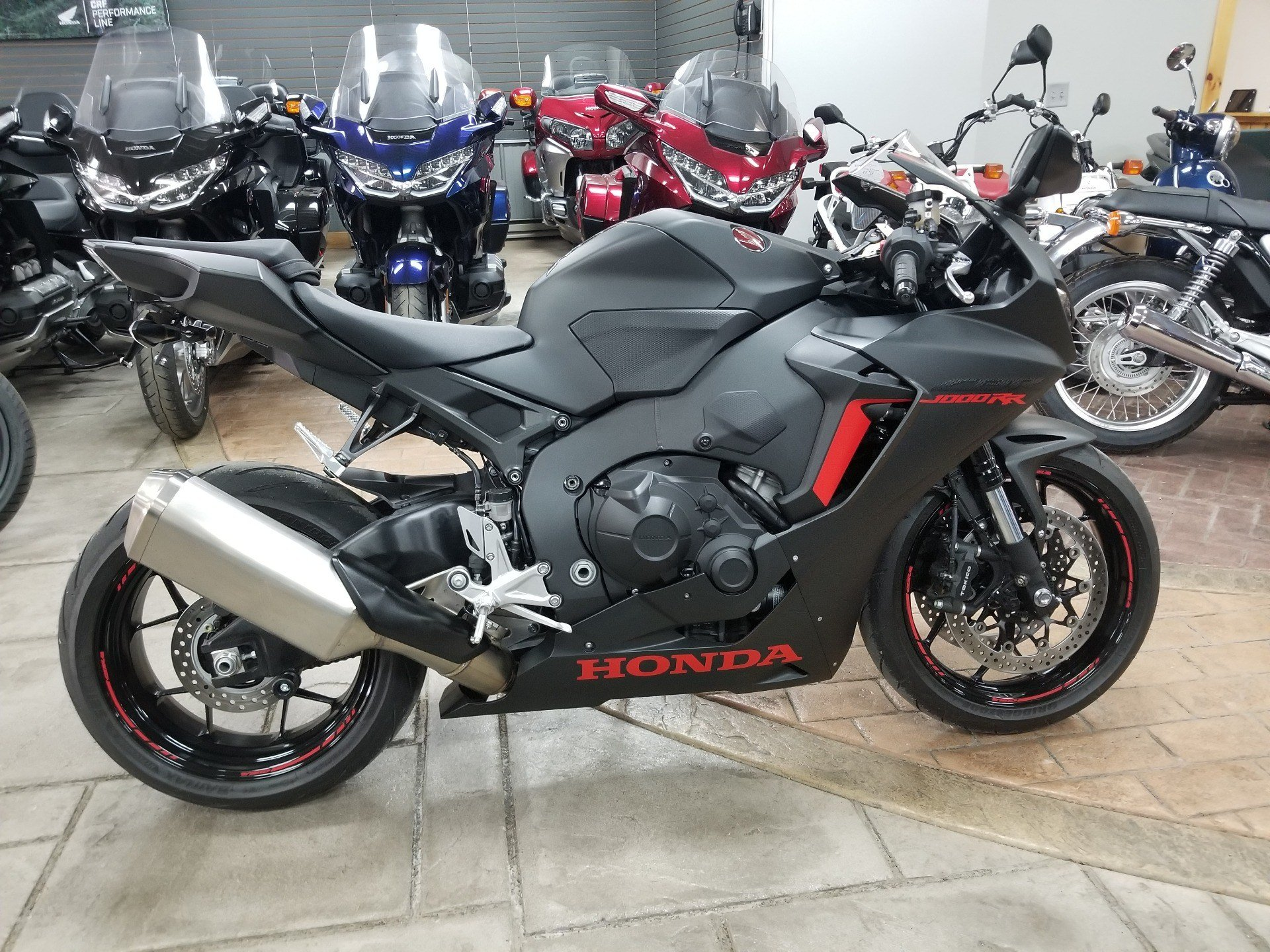 Used 2017 Honda Cbr1000rr Abs Motorcycles In Spring Mills Pa