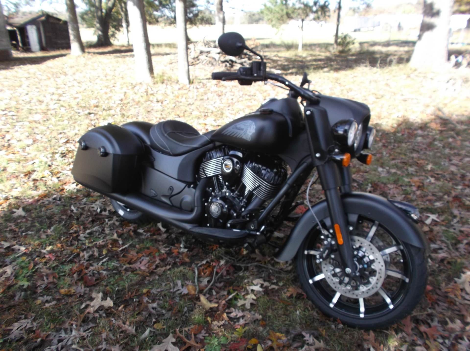 2019 Indian Springfield® Dark Horse® ABS in Greer, South Carolina - Photo 1