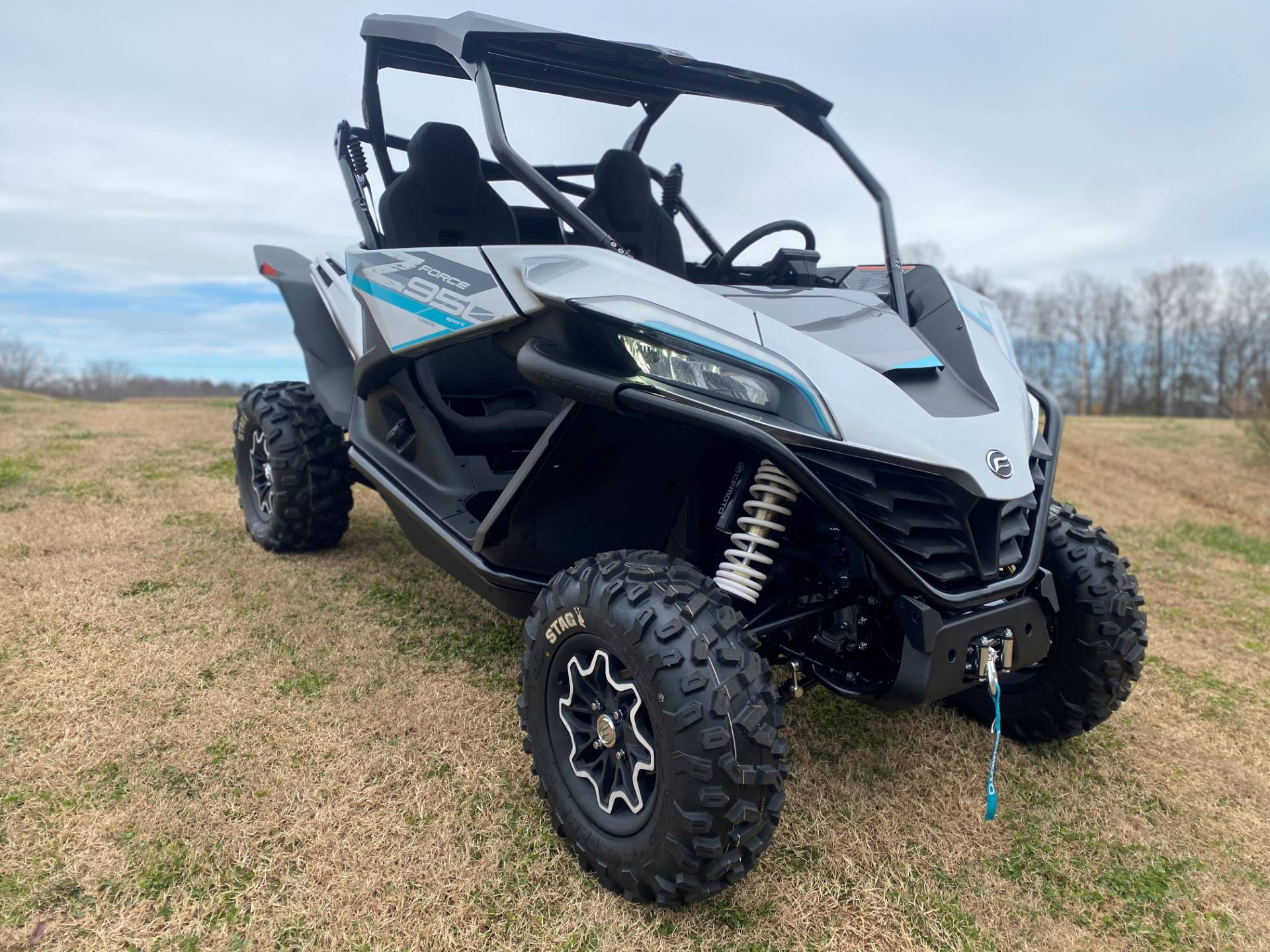 2021 CFMOTO ZForce 950 Sport in Greer, South Carolina - Photo 4