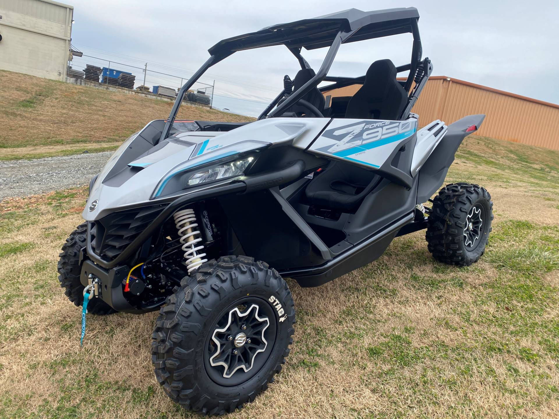 2021 CFMOTO ZForce 950 Sport in Greer, South Carolina - Photo 13