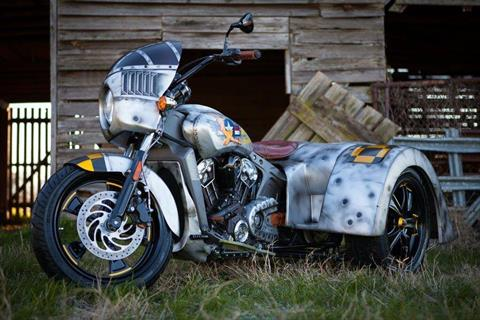 "2016 Indian Scout ""Project Miss Behavin"" Custom Trike in Greer, South Carolina"