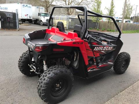 2017 Arctic Cat Wildcat Trail in Tualatin, Oregon