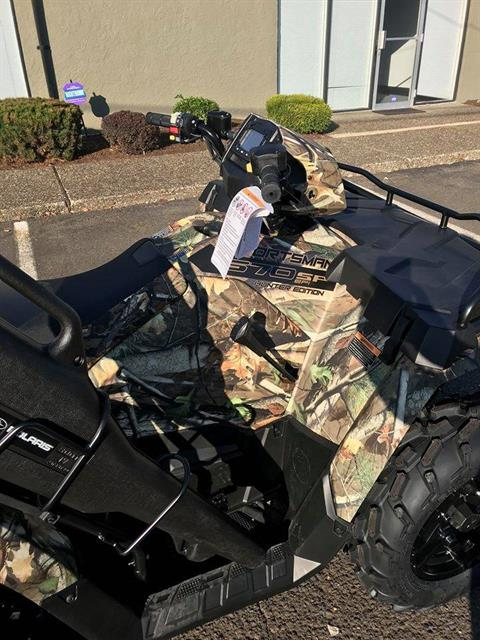 2019 Polaris Sportsman 570 SP Hunter Edition in Tualatin, Oregon