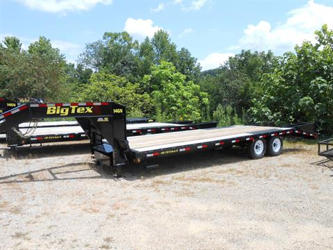 2017 Big Tex Trailers 14GN-20BK+5 in Franklin, North Carolina