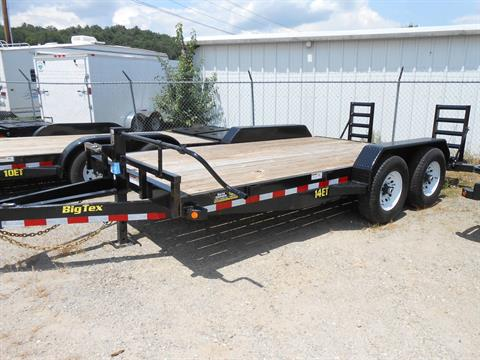 2017 Big Tex Trailers 14ET-16BK-KR in Franklin, North Carolina