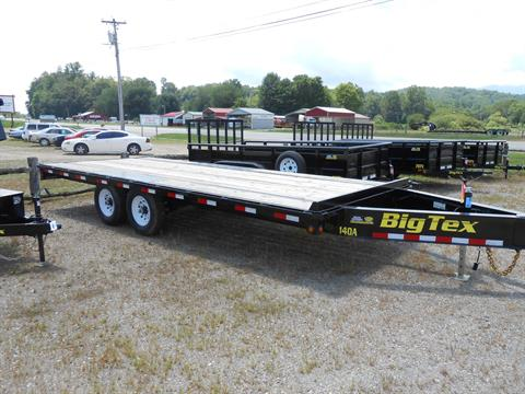2017 Big Tex Trailers 14OA-20BK8SI in Franklin, North Carolina