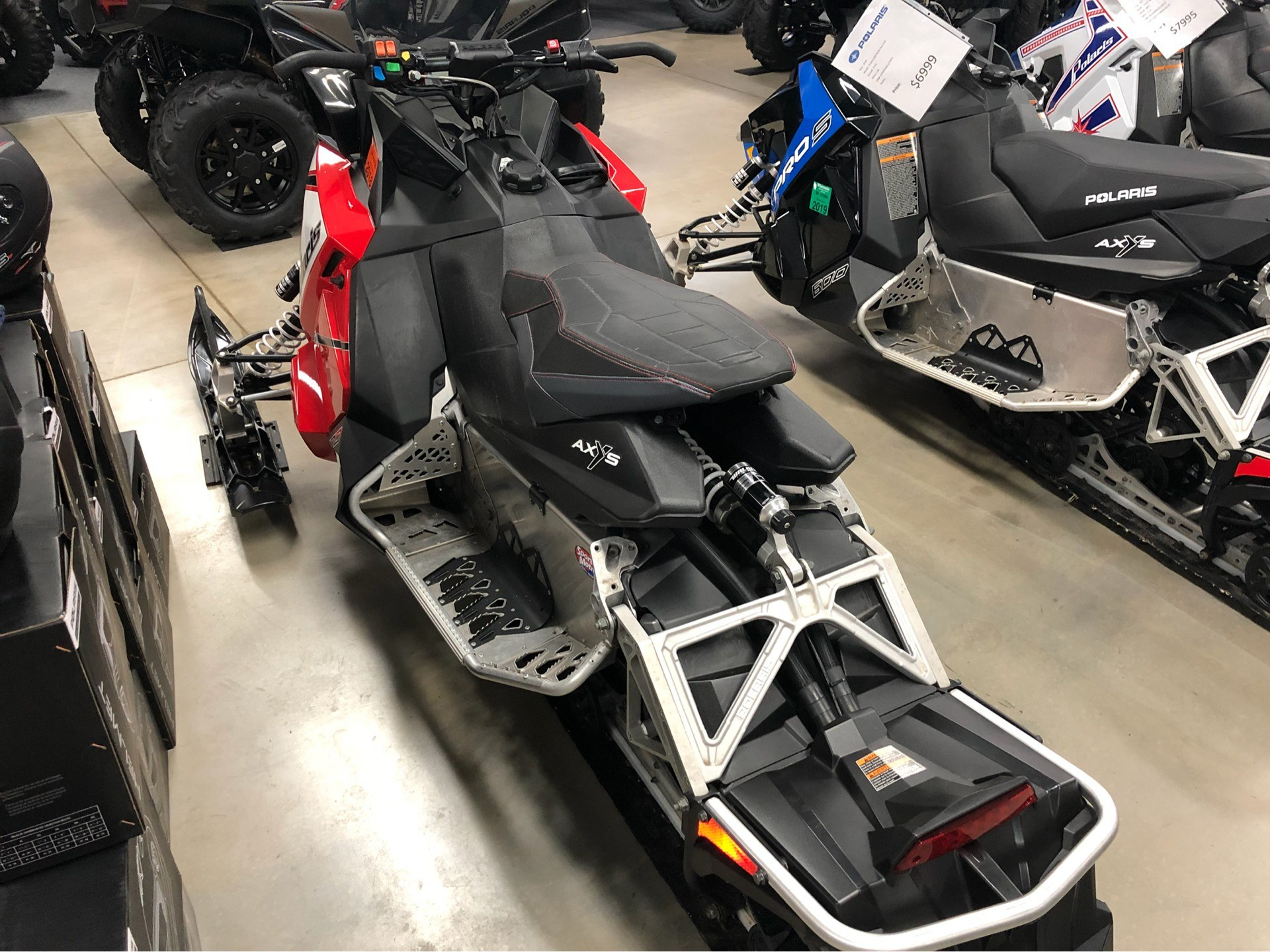 2016 Polaris 800 RUSH PRO-S ES in Appleton, Wisconsin - Photo 3