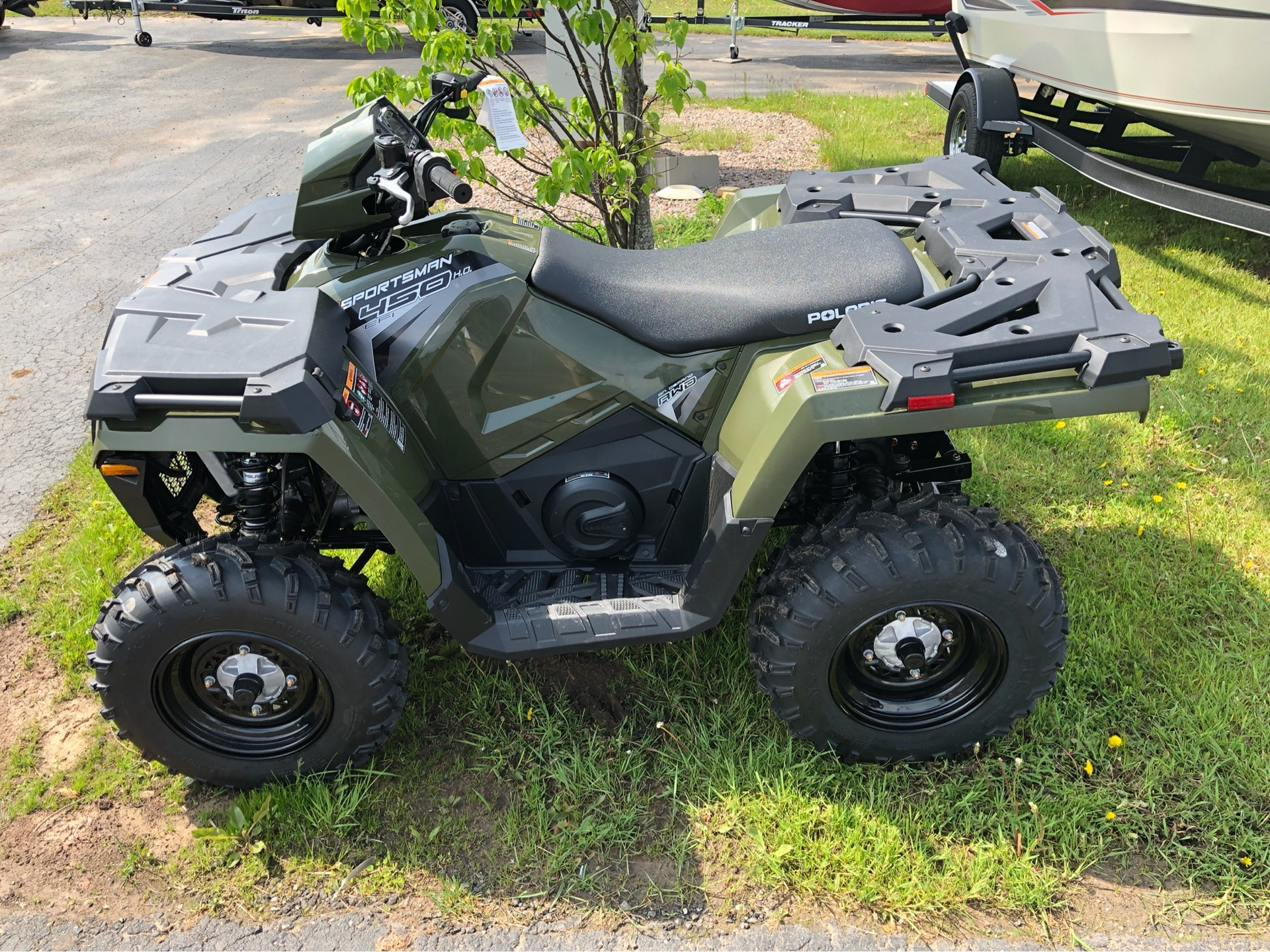 2019 Polaris Sportsman 450 H.O. in Appleton, Wisconsin - Photo 2