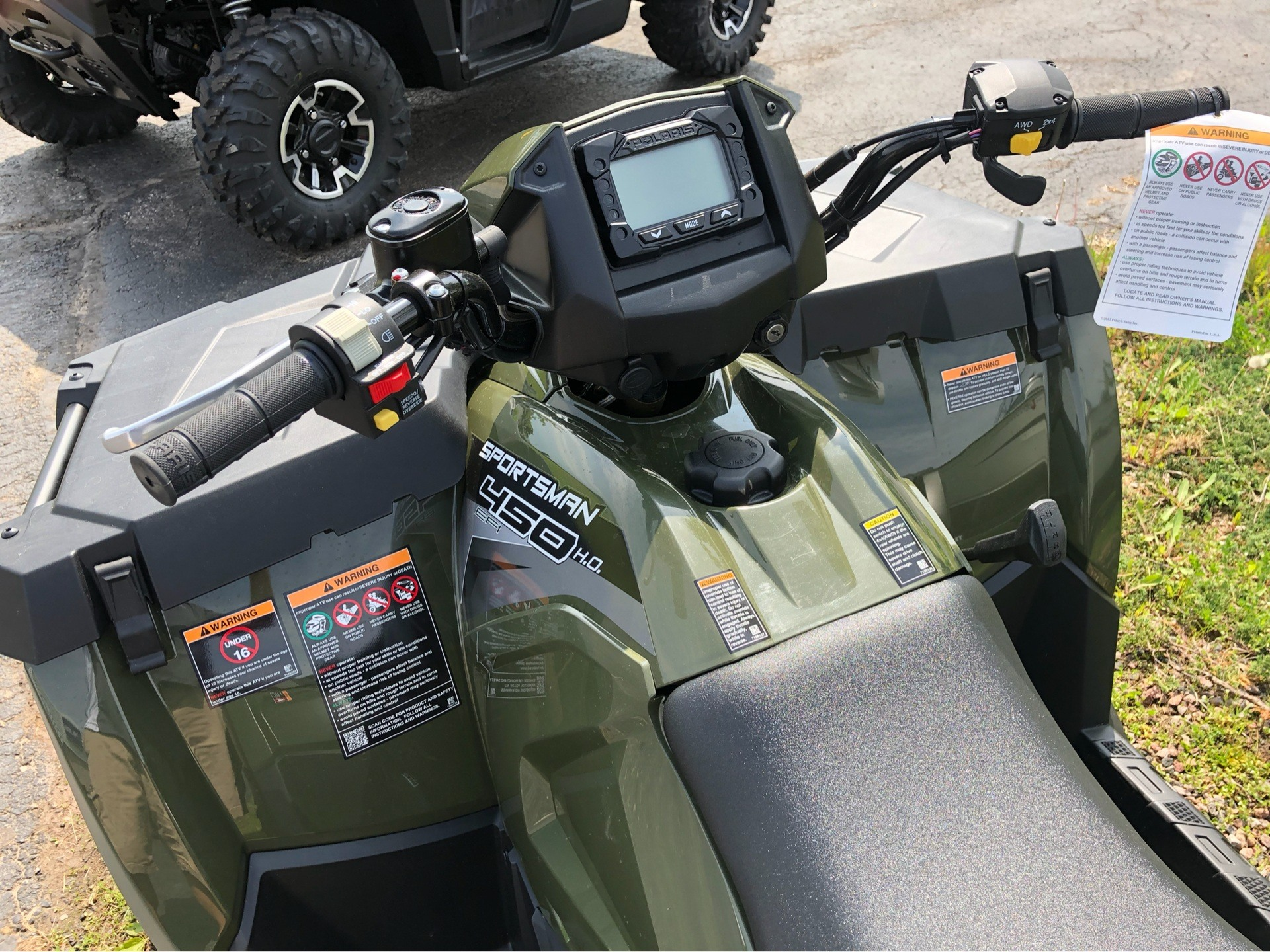 2019 Polaris Sportsman 450 H.O. in Appleton, Wisconsin - Photo 3