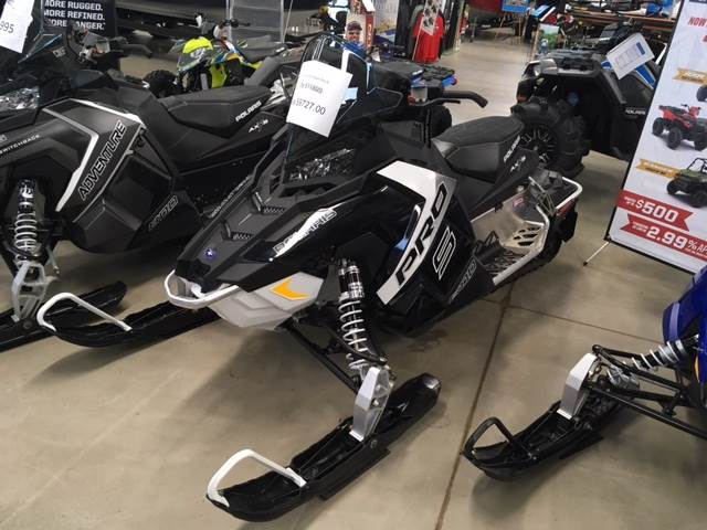 2017 Polaris Rush Pro-S in Appleton, Wisconsin