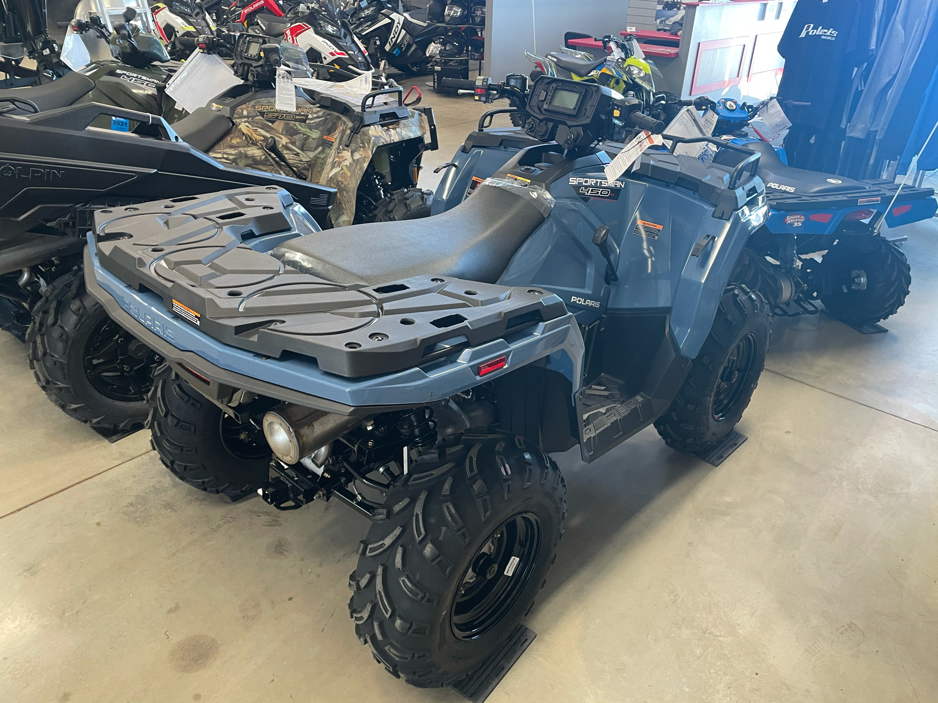 2021 Polaris Sportsman 450 H.O. in Appleton, Wisconsin - Photo 2