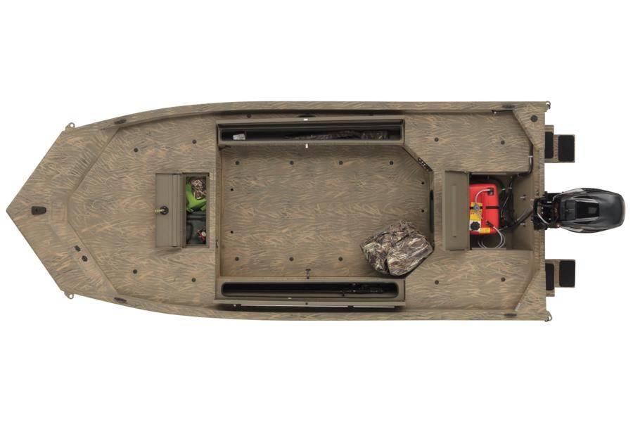 New 2019 Tracker Grizzly 1654 T Sportsman Jon Power Boats