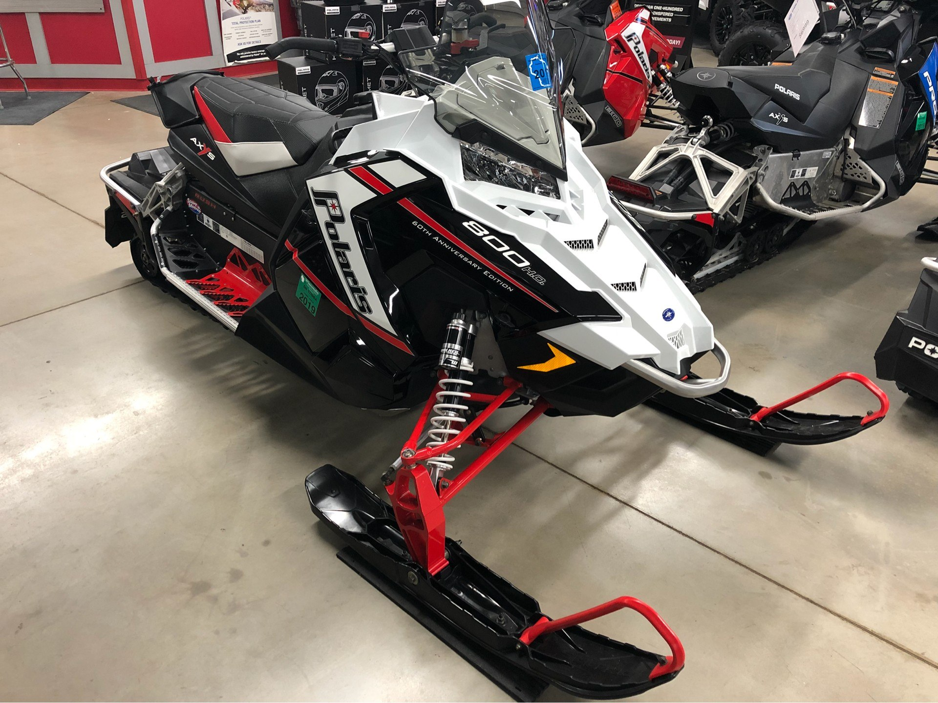 2015 Polaris 800 Rush Pro-S - 60th Anniversary F&O SC for sale 7969