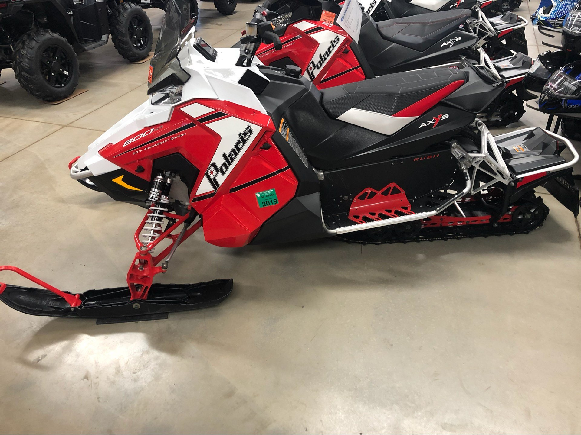 2015 Polaris 800 Rush® Pro-S - 60th Anniversary F&O SC in Appleton, Wisconsin - Photo 2