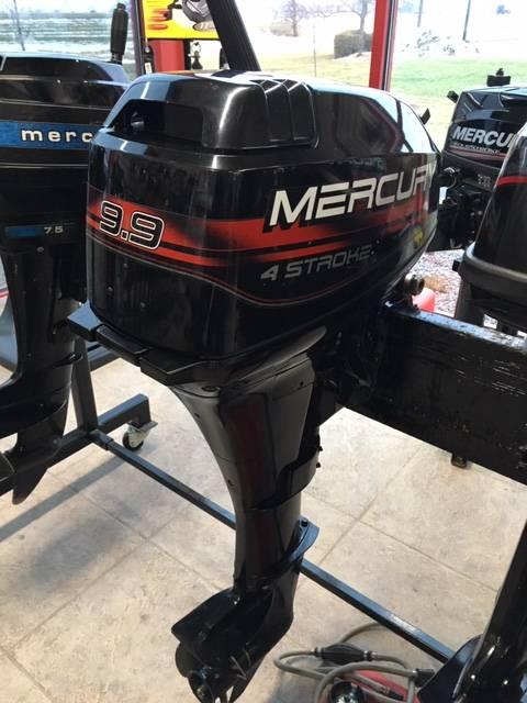 1996 Mercury 9.9 Fourstroke Tiller in Appleton, Wisconsin