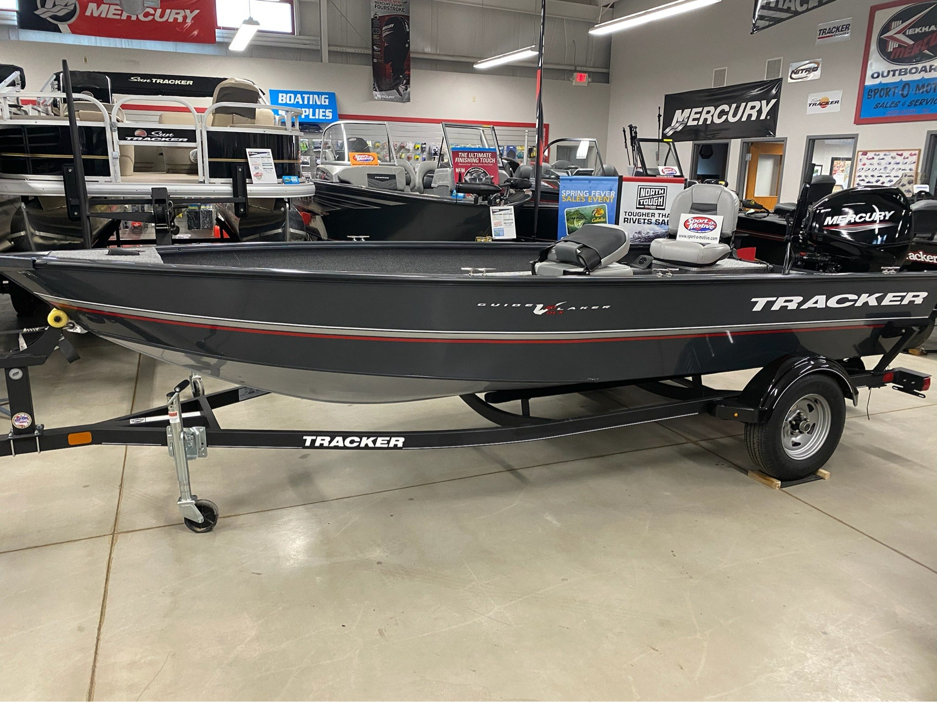 2020 Tracker Guide V-16 Laker DLX T in Appleton, Wisconsin - Photo 2