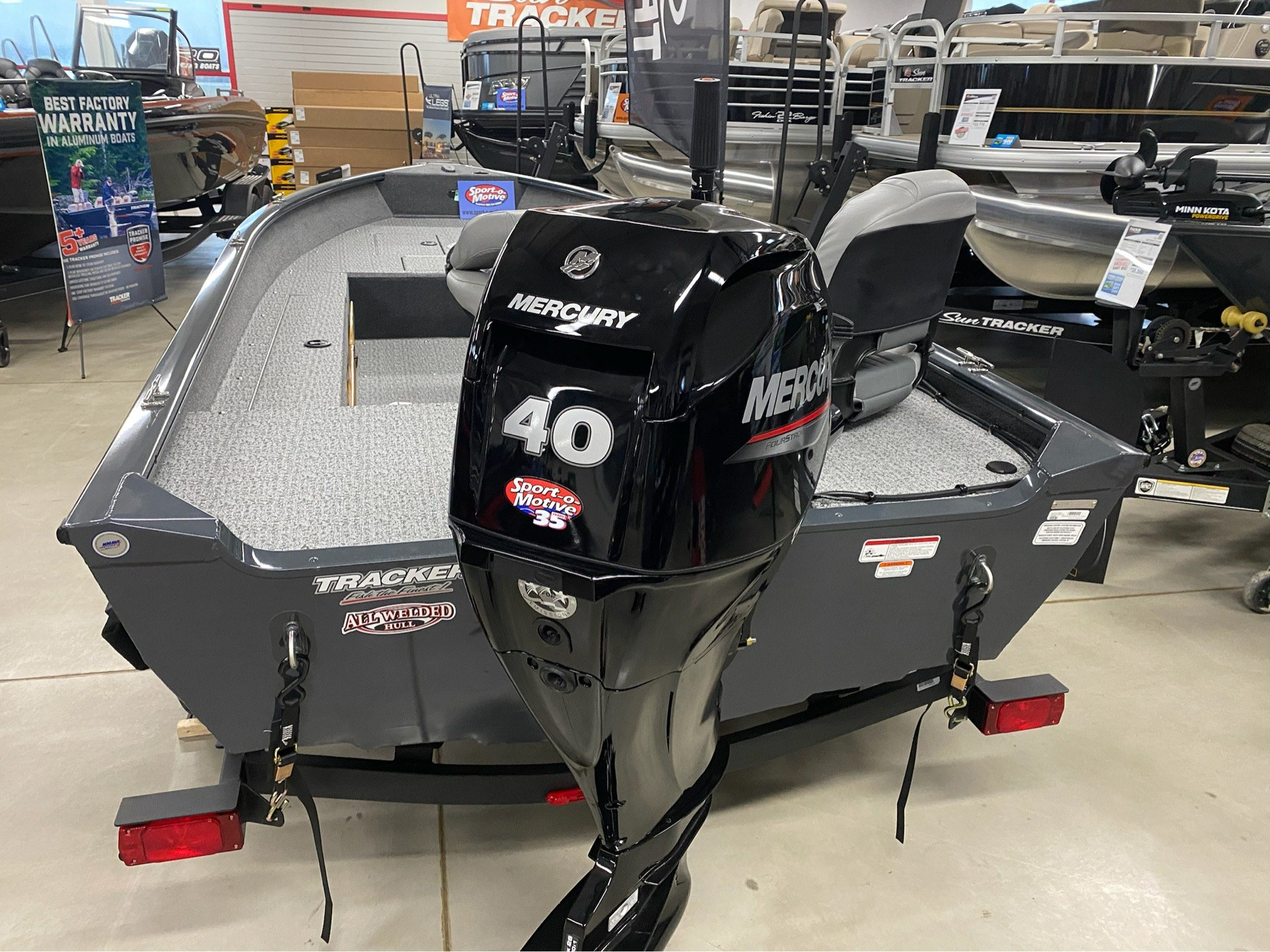 2020 Tracker Guide V-16 Laker DLX T in Appleton, Wisconsin - Photo 3