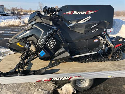 2016 Polaris 800 RUSH PRO-S SnowCheck Select in Appleton, Wisconsin