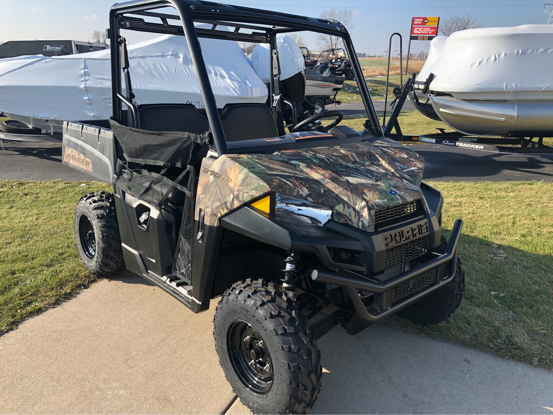 2019 Polaris Ranger 570 Polaris Pursuit Camo for sale 385
