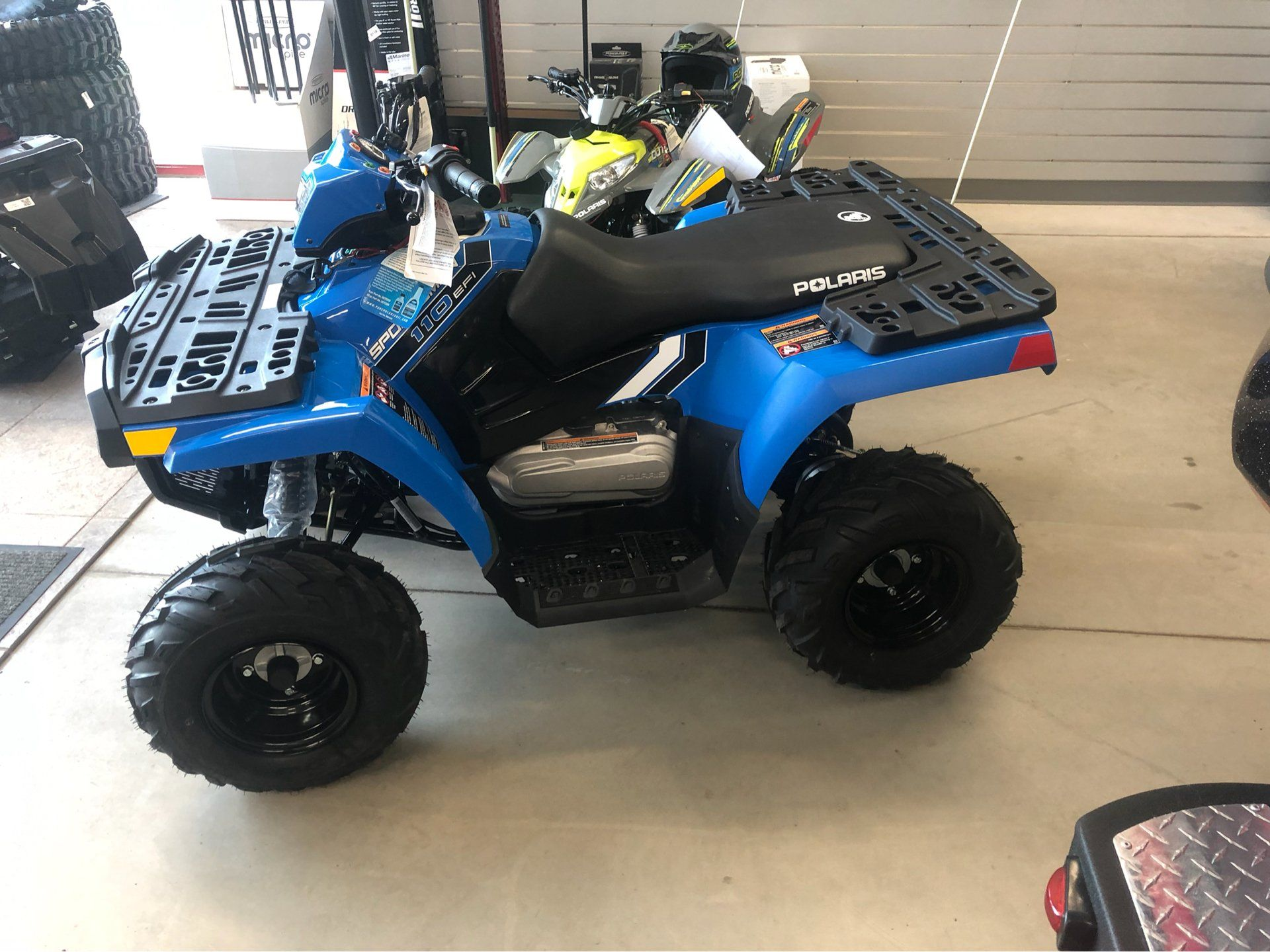 2019 Polaris Sportsman 110 EFI in Appleton, Wisconsin - Photo 2