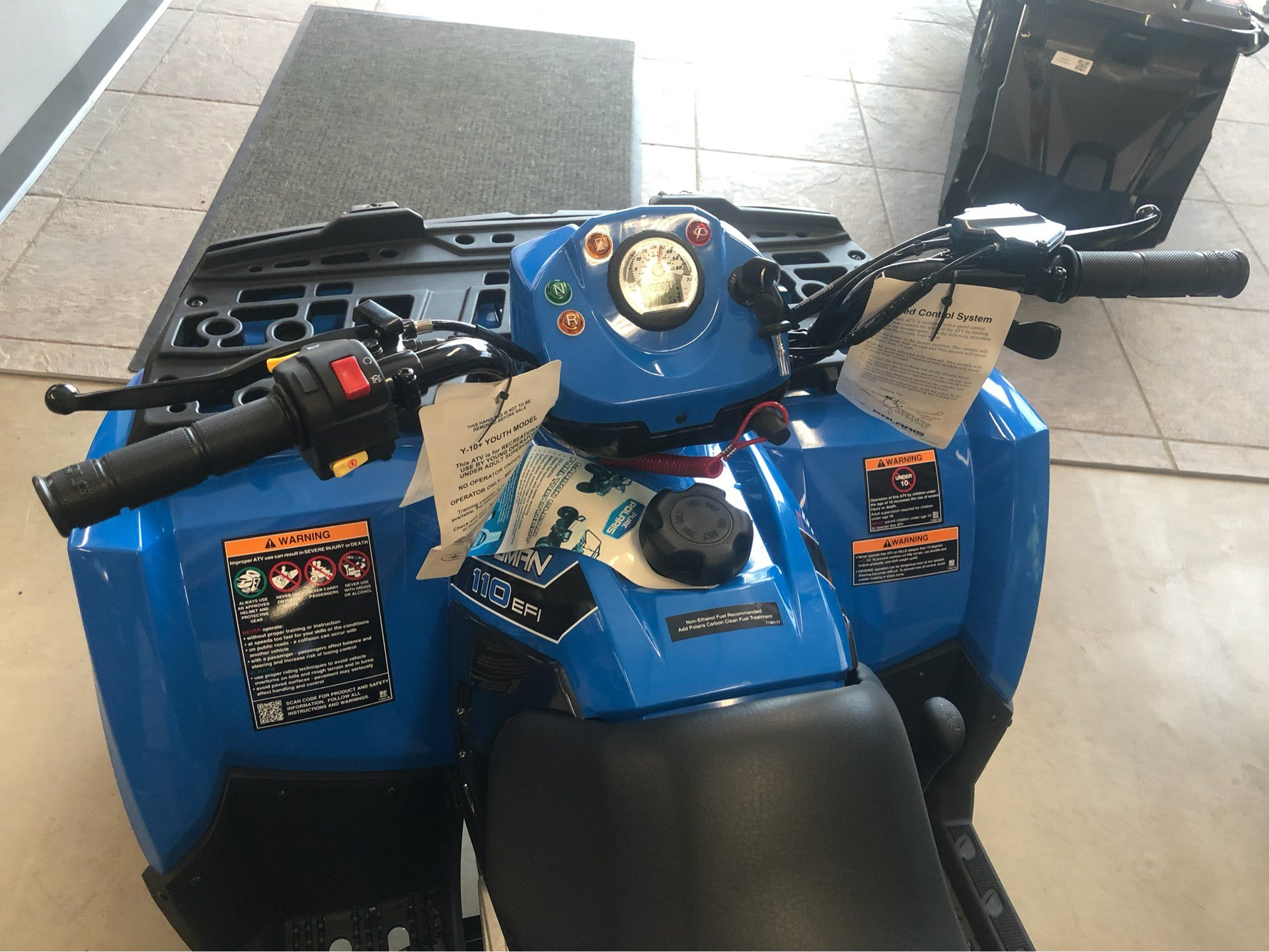 2019 Polaris Sportsman 110 EFI in Appleton, Wisconsin - Photo 3