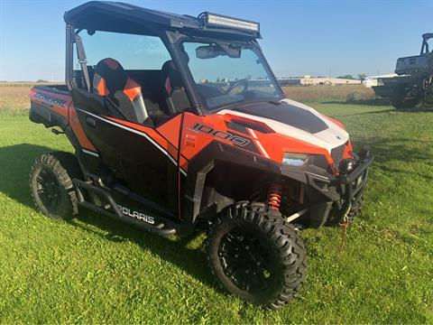2016 Polaris General 1000 EPS Deluxe in Appleton, Wisconsin