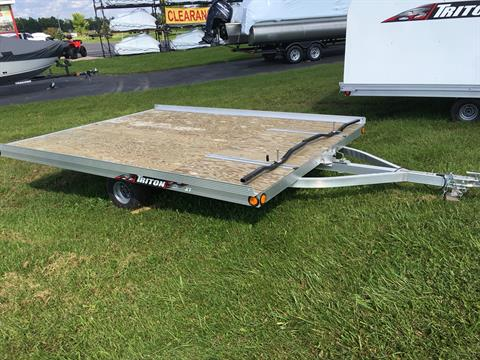 2017 Triton Trailers XT11-101 SQ in Appleton, Wisconsin