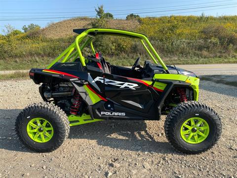 2021 Polaris RZR Turbo S Lifted Lime LE in Claysville, Pennsylvania - Photo 1