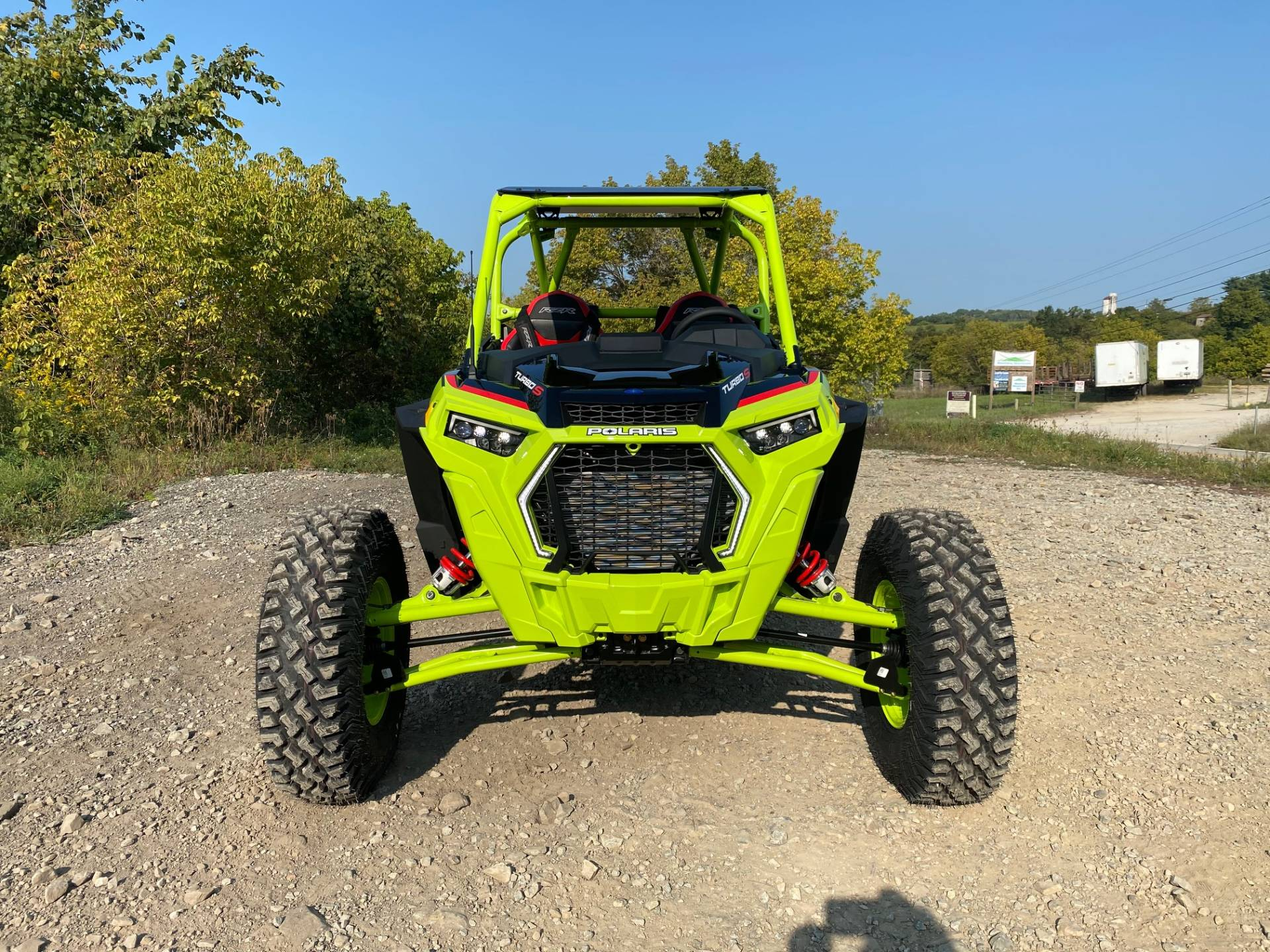2021 Polaris RZR Turbo S Lifted Lime LE in Claysville, Pennsylvania - Photo 3
